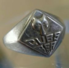 Buy sz 7 vintage Sterling Silver Scout Ring : CUBS BSA : Boy Scouts of America