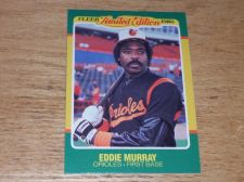 Buy VINTAGE Eddie Murray Baltimore Orioles 1986 FLLER LIMITED EDITION GLOSSY NMNT