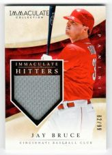Buy MLB 2014 PANINI IMMACULATE JAY BRUCE JERSEY /99 MNT