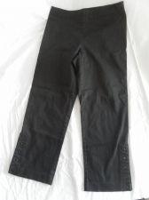 Buy Womens Willi Smith Stretch Capri Pant Size 6 Black