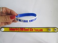 Buy Silicone Bracelet Rubber Wristband We Love CHELSEA Soccer Football Club Logo