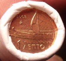 Buy Gem Unc Original Roll (50) Greece 2003 1 Euro Cents~Ancient Athenian Trireme~F/S