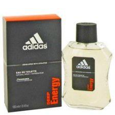 Buy Adidas Deep Energy by Adidas Eau De Toilette Spray 3.4 oz (Men)