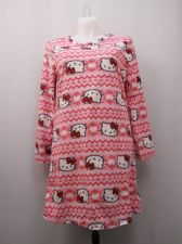 Buy Hello Kitty Women's Sleep Shirt Size 16-18 Micro Fleece Long Sleeves Pullover