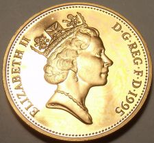 Buy Cameo Proof Great Britain 1995 Penny~100,000 Minted~Proofs Are The Best~Free Shi