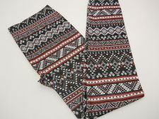 Buy SIZE XL Women Seamless Leggings NO BOUNDARIES Multi Tribal Skinny Legs Inseam 28