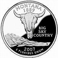Buy 2007-D MONTANA BRILLIANT UNCIRCULATED STATE QUARTER