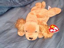 Buy RETRO ORIGINAL TY BEANIE BABY PLUSH SPUNKY DOG COLLECTIBLE NICE