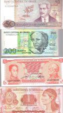Buy Brazil Venuzuela Honduras Guatamala Peru Costa Rica Paraguay Banknote Set