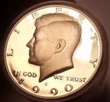 Buy Gem Proof Roll (20) United States 1990-S John F. Kennedy Half Dollars~Free Ship