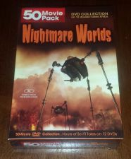 Buy new - Nightmare Worlds - 50 Movie Pack DVD 2009 12 disc boxed set DVD