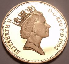 Buy Cameo Proof Great Britain 1992 Penny~See Our E-Bay Store~Excellent~Free Shipping