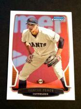 Buy MLB HUNTER PENCE GIANTS SUPERSTAR 2013 BOWMAN CHROME #158 MNT