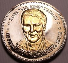 Buy Historic Mint Double Eagle Elvis The King Presley Commemorative Medallion~Fr/Shi