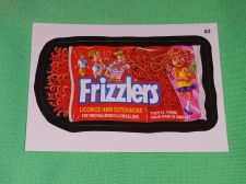 Buy RARE Willy Wonka Wacky Package Frizzlers Collectors Sticker Card Mint