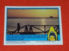 Buy RETRO JAWS IN 3-D 1983 MCA COLLECTORS CARD #10 MNT