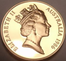Buy Cameo Proof Australia 1986 Cent~Feather Tailed Glider~67,000 Minted~Free Ship