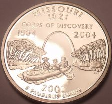 Buy Gem Cameo Proof 2003-S Missouri State Quarter~Free Shipping~We Have Proofs~