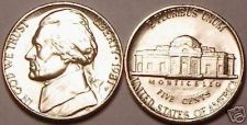 Buy UNCIRCULATED 1981-P JEFFERSON NICKEL~FREE SHIPPING~WOW~