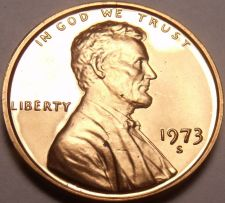 Buy United States Proof 1973-S Cent~Special Price~Free Shipping