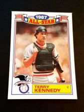 Buy VINTAGE TERRY KENNEDY 1987 TOPPS ALL STAR BASEBALL #9/22 GD-VG