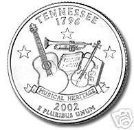 Buy 2002-D TENNESSEE BRILLIANT UNCIRCULATED STATE QUARTER
