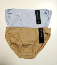 Buy A209B Jones New York NEW Women's Blue Tan Tagless Silky Microfiber Bikini 610152