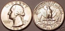 Buy 1984-D BRILLIANT UNCIRCULATED WASHINGTON QUARTER<NICE