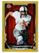 Buy NFL 2015 BOWMAN DEZMIN LEWIS RC /399 MNT