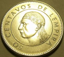 Buy Gem Unc Honduras 2007 50 Centavos~We have Unc North American Coins~Free Shipping