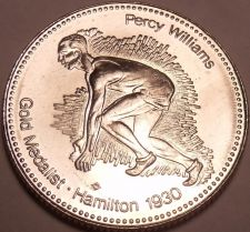 Buy Large Gem Unc Canadian Percey Williams Gold Medalist~World Record Holder~Fr/Ship
