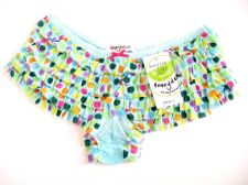 Buy A0334 Honeydew Sheer Mesh Rumba Boyshort 007-3 Apple Pear Prints New $0 Shipping