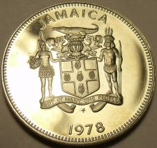 Buy Rare Proof Jamaica 1978 10 Cents~Only 6,058 Minted~Butterfly~Free Shipping