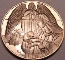Buy Massive Gem Proof Christ Is Born Medallion~The Three Wise Men~Incredible~Free Sh