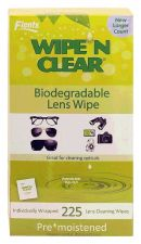 Buy Flents Wipe 'N Clear Lens Wipe 225 Wipes - Biodegradable