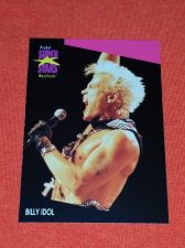 Buy RETRO BILLY IDOL 1992 PROSET ROCK & ROLL COLLECTORS CARD #189 MNT