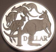 Buy Massive Rare Australia 2004 Cameo Proof Silver Dollar~Mob Of Roo's~6K Minted~F/S