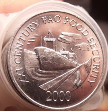 Buy Gem Unc Roll (40 Coins) Panama 2000 F.A.O Issue 1 Centesimo~Panama Canal~Free Sh