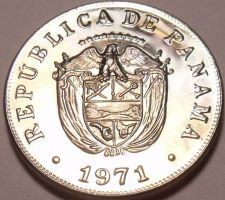 Buy Rare Proof Panama 1971 5 Centesimos~10,696 Minted~Struck In San Francisco~FR/Shi
