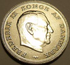 Buy UNC DENMARK 1972-H-SS KRONE~FREDRICK IX~ROYAL ARMS~FREE SHIPPING~