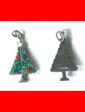Buy vintage ENAMEL 25mm TALL CHRISTMAS TREE CHARM