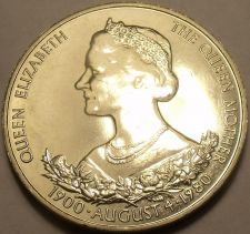 Buy Massive Guernsey 1980 25 Pence~The Queens 80th Birthday Celebration~Free Ship