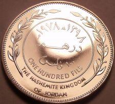 Buy Rare Proof Kingdon Of Jordan AH-1398 (1978) 100 Fils~Only 20,000 Minted~Free Shi
