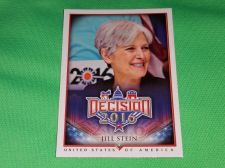 Buy 2016 Presidential Decision Influencers Jill Stein Collectible trading card MNT