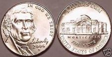 Buy 2006-D BRILLIANT UNCIRCULATED NEW JEFFERSON HEAD NICKEL