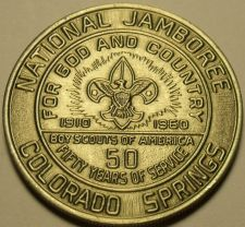 Buy Gem Unc Boy Scouts National Jamboree 50 Year Medallion~Colorado Springs~Free Shi