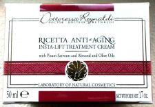 Buy S0184 Dottoressa Reynaldi Ricetta Anti-Aging Insta-Lift Treatment Cream 50ml New