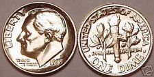 Buy 1985-P BRILLIANT UNCIRCULATED ROOSEVELT DIME~FREE SHIPPING~