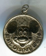 Buy WALT DISNEY WORLD (ORLANDO, FL) MICKEY MOUSE CHARM / GOLD VERMEIL OVER STERLING