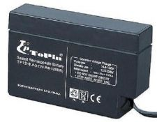 Buy ToPin 12v rechargable lead acid battery TP12 0.8 AH - warning home alarm system